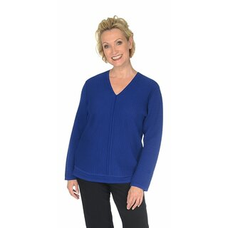Pullover Welle V-Neck, Langarm Karin Glasmacher